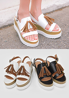 Arrived Too Late Platform Sandals