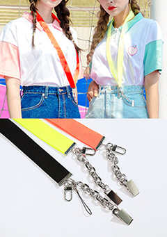 Vivid-Colored Candy Strap
