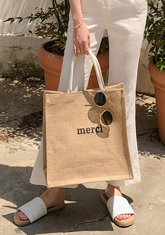 Merci Shopping Bag