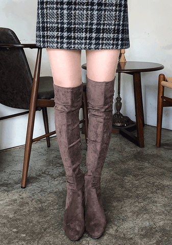 Look Back Over The Knee Boot