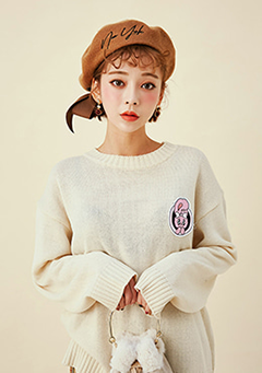 Estherloveschuu patch knit
