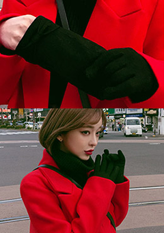 Because Of The Winter Wind Gloves