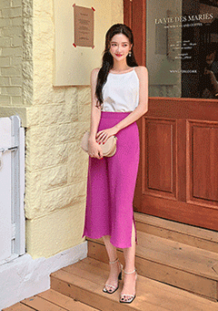 Unforgettable Memories Midi Skirt