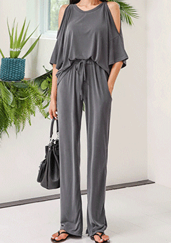 Leighton Loose Wide Legs Pants