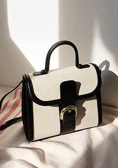 Totally Square Two-Toned Bag