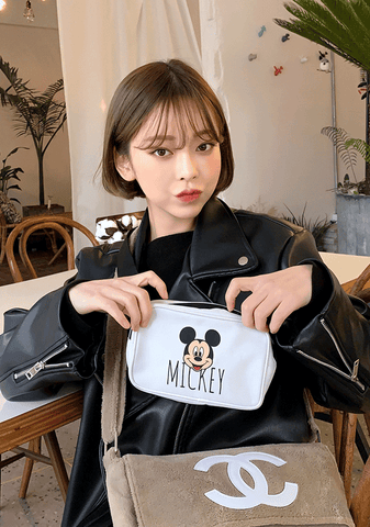 With Micky Bum Bag