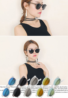 Glossy Colored Sunglasses