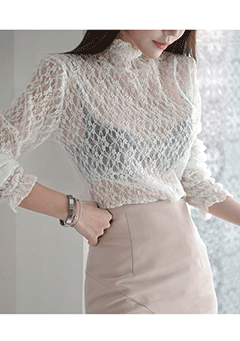Moscow Lace Blouse