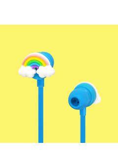 Funky Earphone - Rainbow