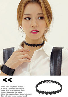 Midnight Heart Choker