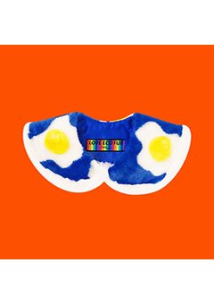 Eco Fur Collar - Sunny Side Up