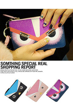 Toon Eye Accent Purse