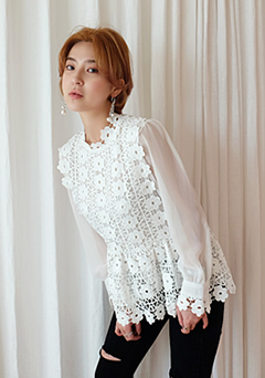 Rose Garden Lace Blouse