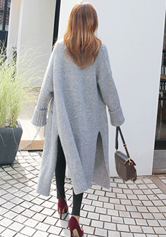 Over Long Cardigan