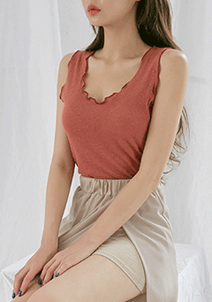 Nature Wave Sleeveless Top