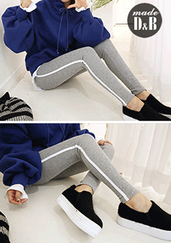 Slim-Fitting Brushed Training Pants