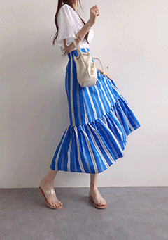 Pokari Stripe Skirt