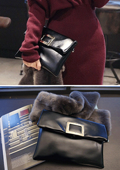 Classic Rectangular Clutch Bag