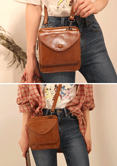 Double Compartment Crossbody Bag