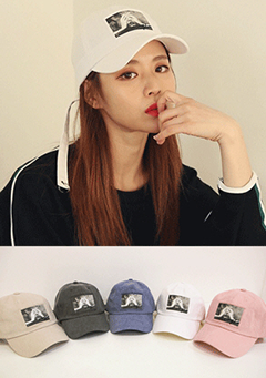 Photo Patch Baseball Cap
