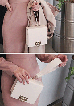 Structured Square Mini Handbag