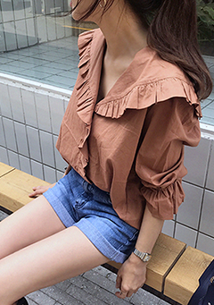 Angelic Frill Blouse