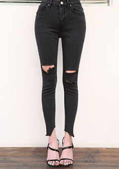 Something Black Skinny Jeans