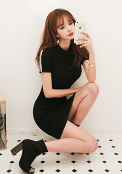 Short-Sleeved T-Shirt Dress