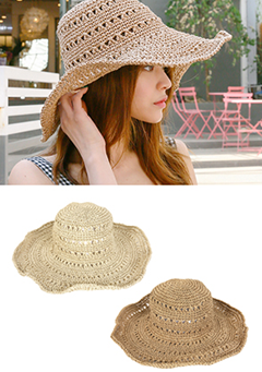 Knitted Floppy Sun Hat