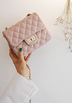 Quilted Mini Flap Bag