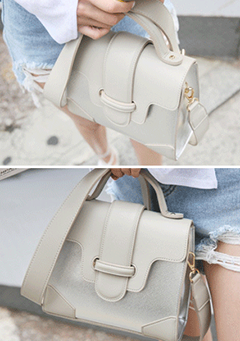 Metallic Mini Square Bag