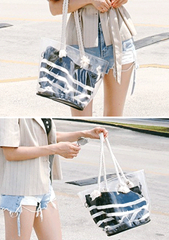 Clear Layered Bag