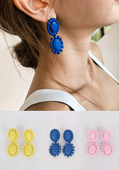 Colorful Sunflower Earrings