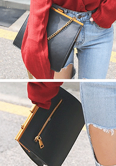 Square Chain Strap Handbag