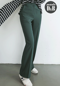 Relaxed Fit High-Rise Slacks