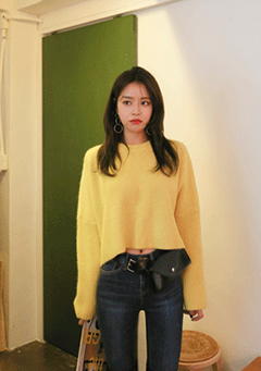 Ping Pong Cropped Knit