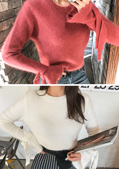 Melting Angora Knit