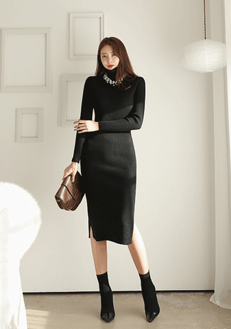Outer Space Knit Dress