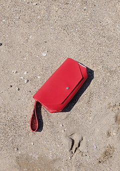 Crazy Red Clutch