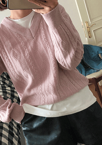About Freedom Knit Sweater