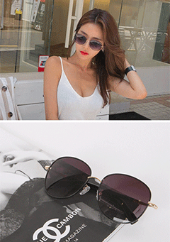 Simple Metal Sunglasses