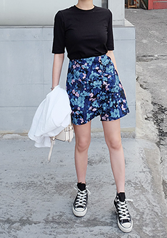 Cool Flowers Skirts