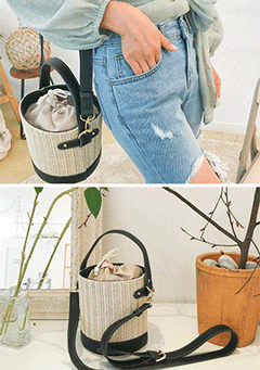 Summer Memory Bucket Bag