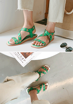 Tinley Cross Straps Sandals