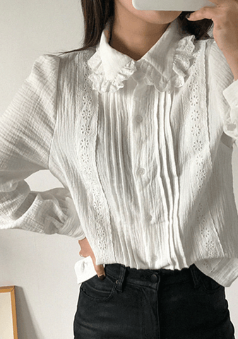 Their Deepest Desire Lace Blouse