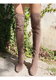 The Vamps  High Knee Heels Boots