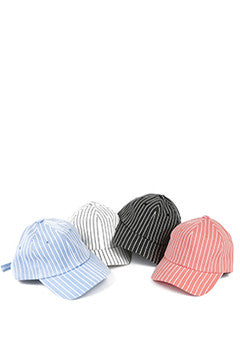 Basic Stripe Cap