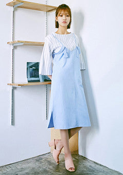 2 Line Shoulder Dress