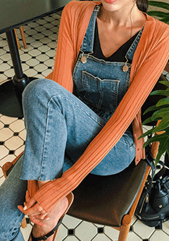 Jerry Denim Overall