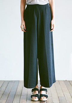 Wide Banding Day Pants